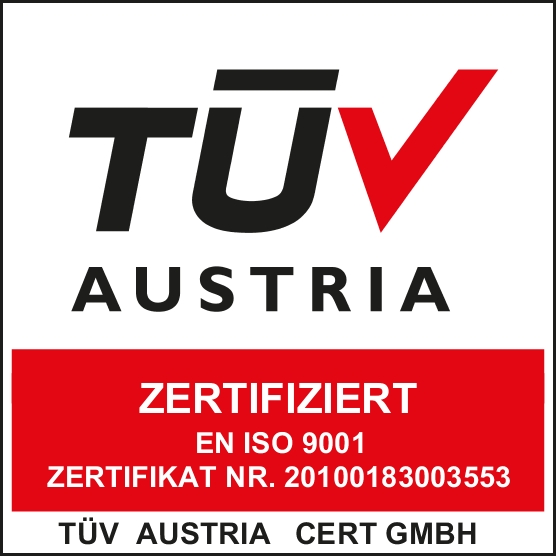 Zertifikat des Tüv